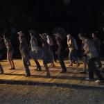 piste de danse avec le club country de Sigean
